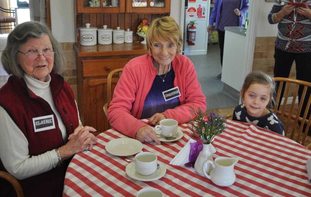 Age no barrier to sharing good times in Kinross