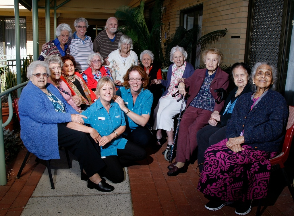 The Young at Heart choir group at Bentley Swan Care's Waminda facility have sent an audition tape to Australia's Got Talent.Picture: Marie Nirme www.communitypix.com.au   d443605