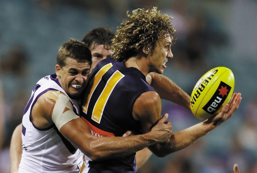 Northern suburbs products Stephen Hill and Matt Priddis.
