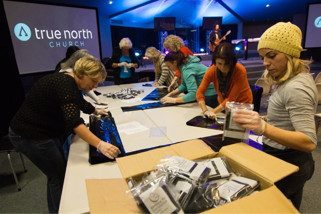 True North Church women's group birth kits deliver in Africa