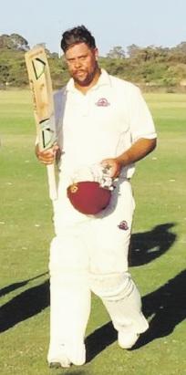 Rockingham-Mandurah cricketer Dane Ugle.