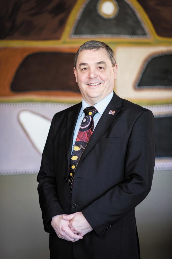 Vice-chancellor Steve Chapman.