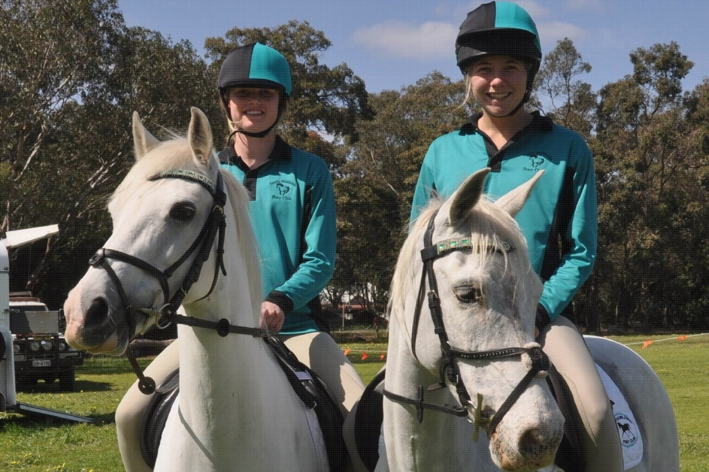 Tegan Court and Casey Booth are excited to be competing    interstate.