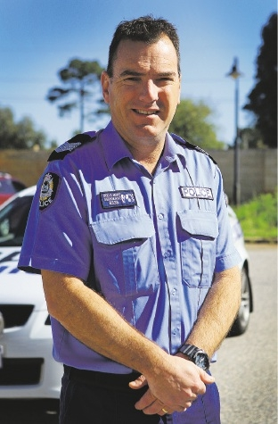 Sgt Steve Hart relishes the opportunity to build trust in the community and lower crime. Picture: Matt Jelonek        www.communitypix.com.au   d441961