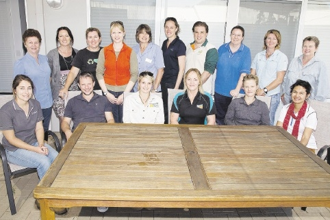 The Rivers 2 Ramsar Project team, Partnerships with Landcare finalist. Right: Thelma Crook.