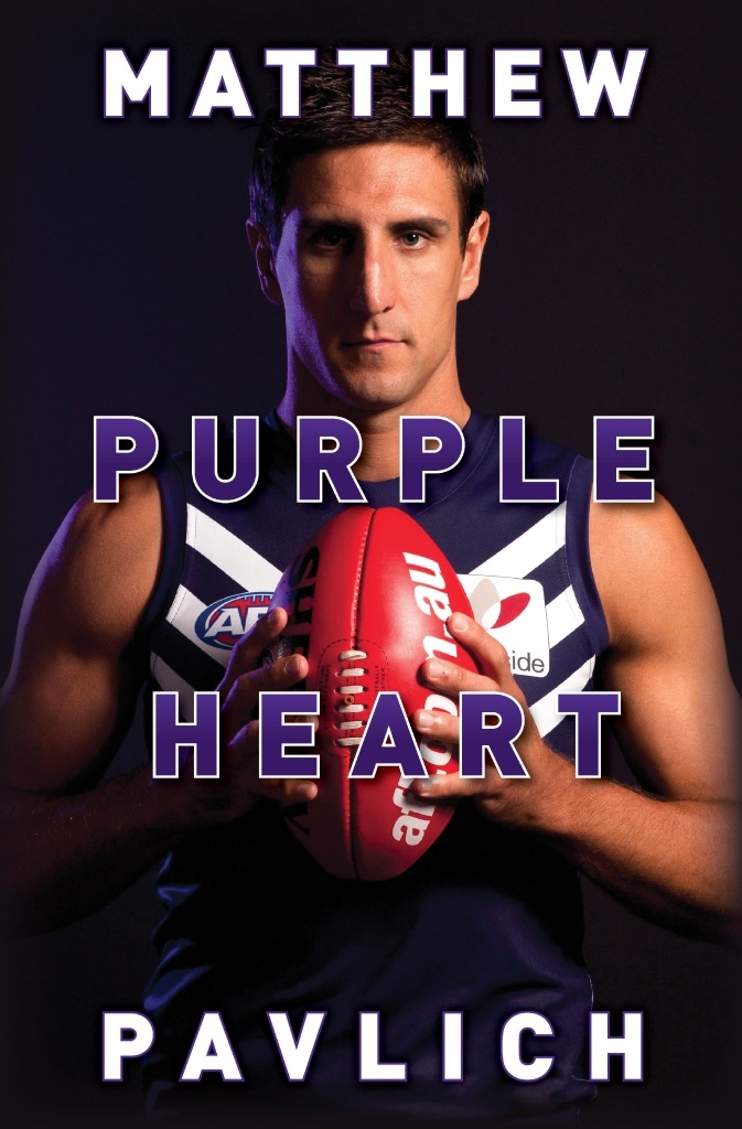 Matthew Pavlich will be in Joondalup on October 15 to promote Purple Heart.