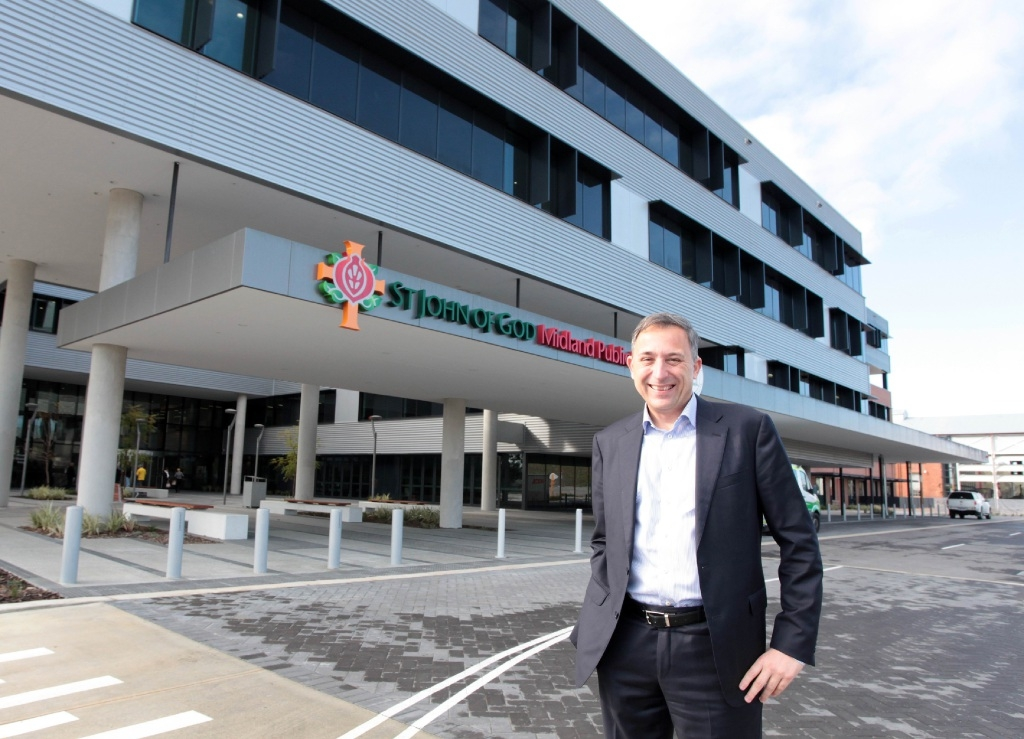 Glen Power is chief executive of St John of God Midland Public Hospital.