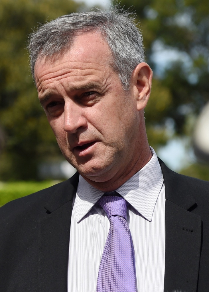 Community Services Minister Tony Simpson