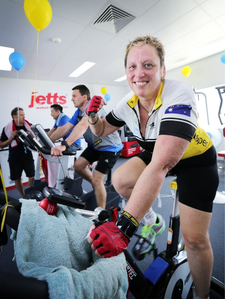 Beechboro cancer sufferer cycles for the Ride to Conquer Cancer