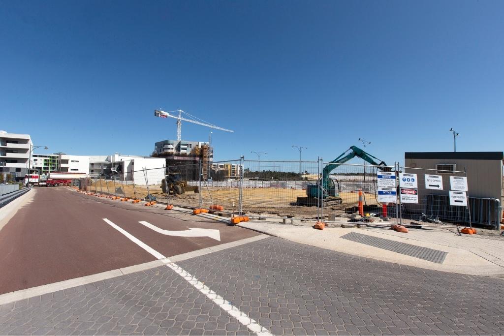 Works on the new Cockburn Central police station start