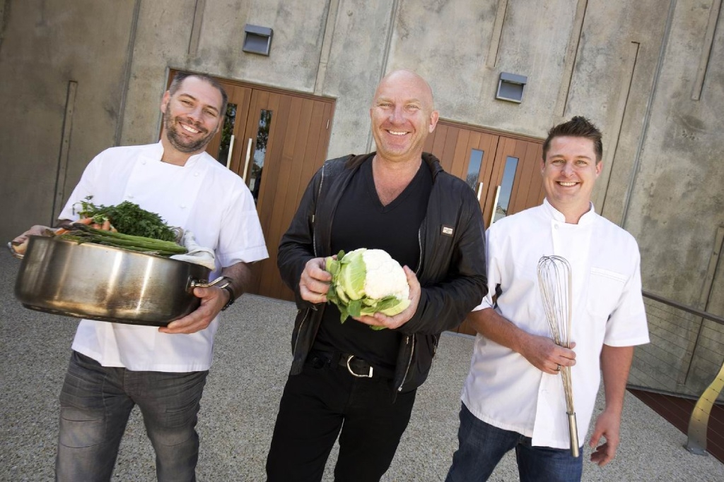 Chefs Hadleigh Troy, Matt Moran and Kiren Mainwaring will headline the Entwined in the Valley Degustation Dinner.