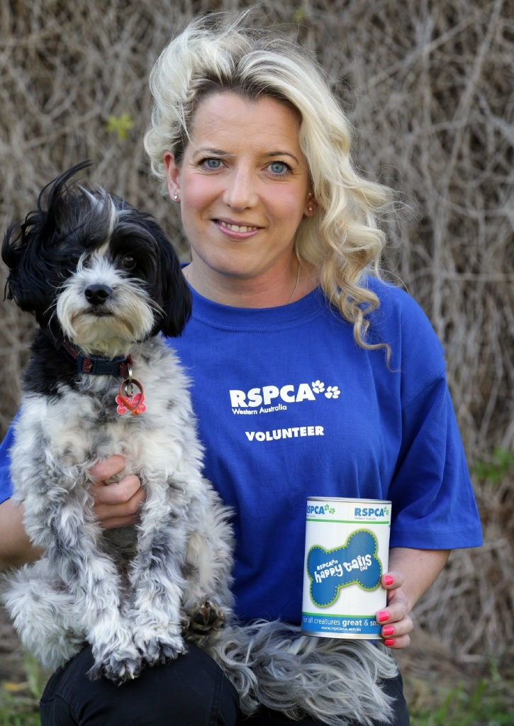 Joanne Bishop with Alfie. Picture: Martin Kennealey    d443438