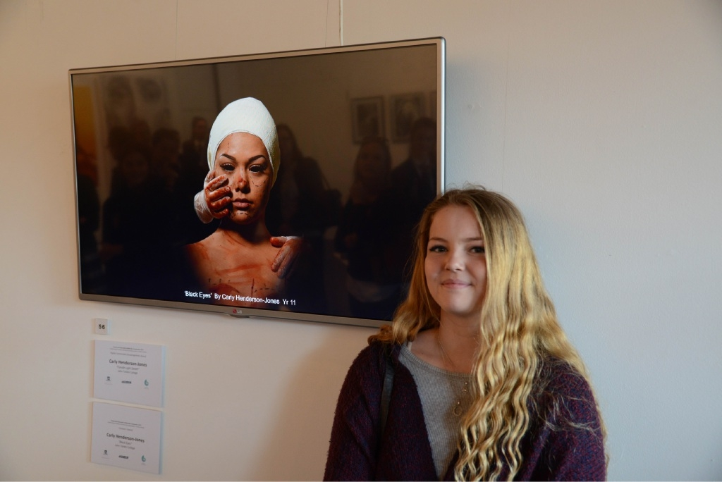 Art queries viewers: Peel Regional Youth Art Perspective Exhibition