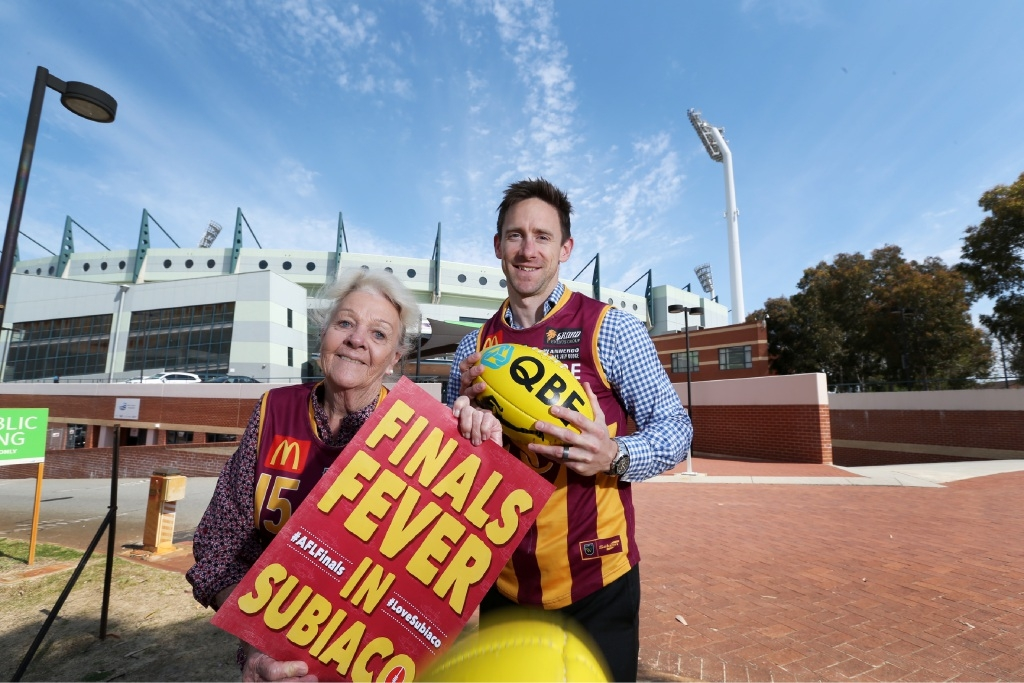Subiaco's Heather Henderson: Big weekend for WAFL and AFL finals