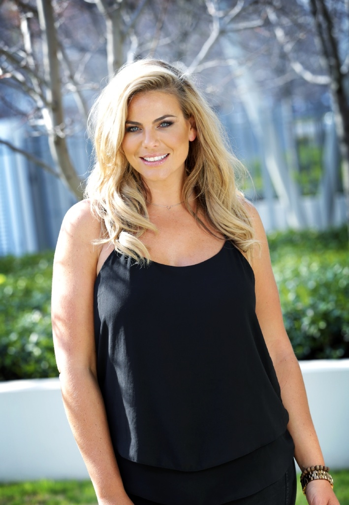 The Biggest Loser Families host Fiona Falkiner was in Perth. Picture: David Baylis        www.communitypix.com.au   d443675
