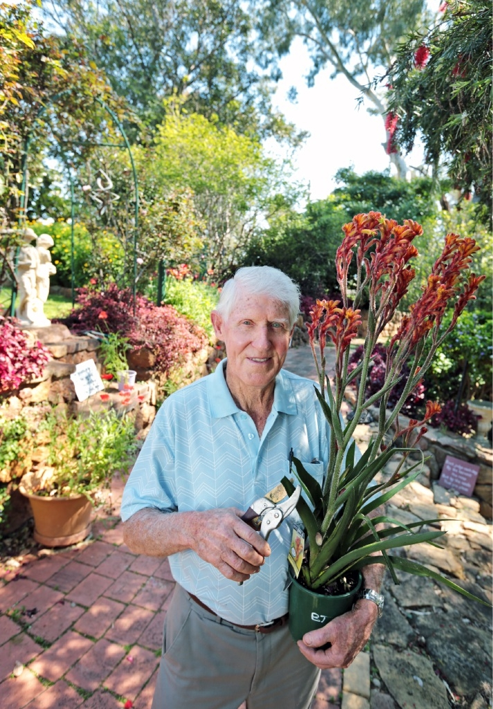 Award-winning gardener Tom Hogg is opening his garden once again to raise money for the Amanda Young Foundation. Picture: David Baylis        www.communitypix.com.au   d444000