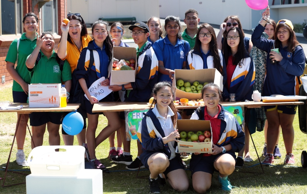 Mercy Day means fun for Koondoola students