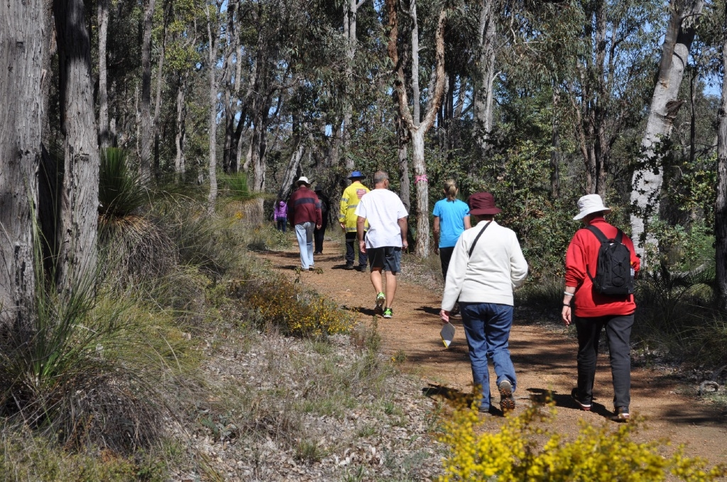 About 2000 people took part in Trek the Trail this year.