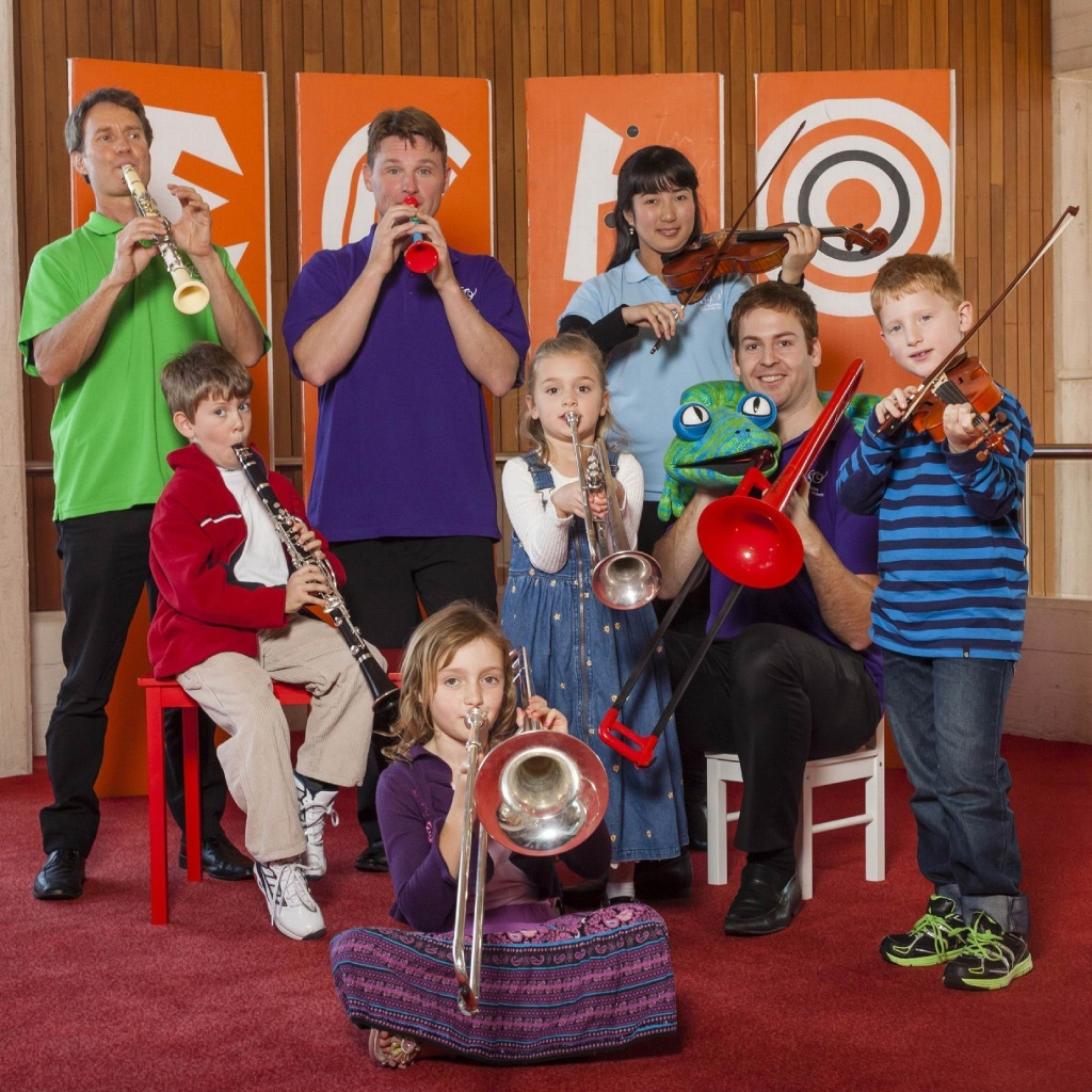 Fun for young and old at a previous WASO Cushion Concert.