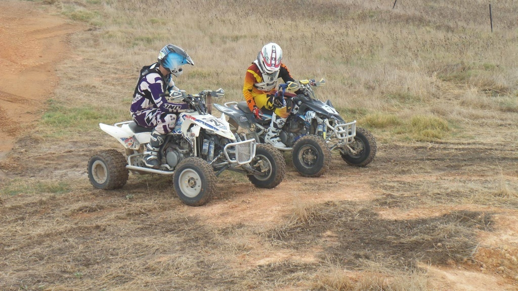Keen quad riders can try motocross on October 11.