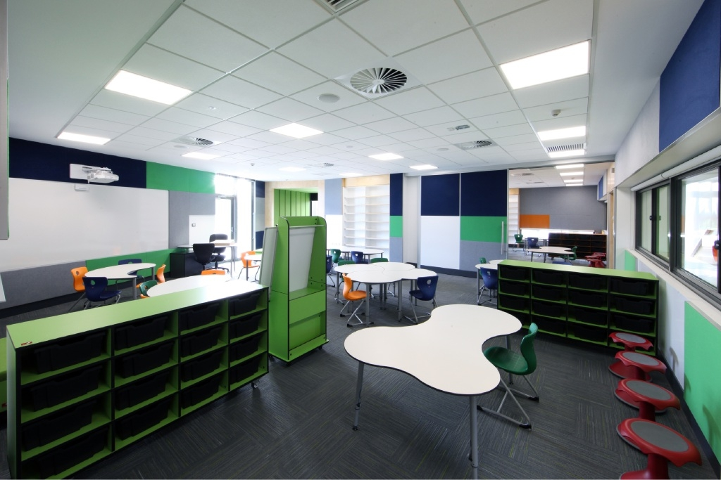 New classrooms keep things flexible at Guildford Grammar