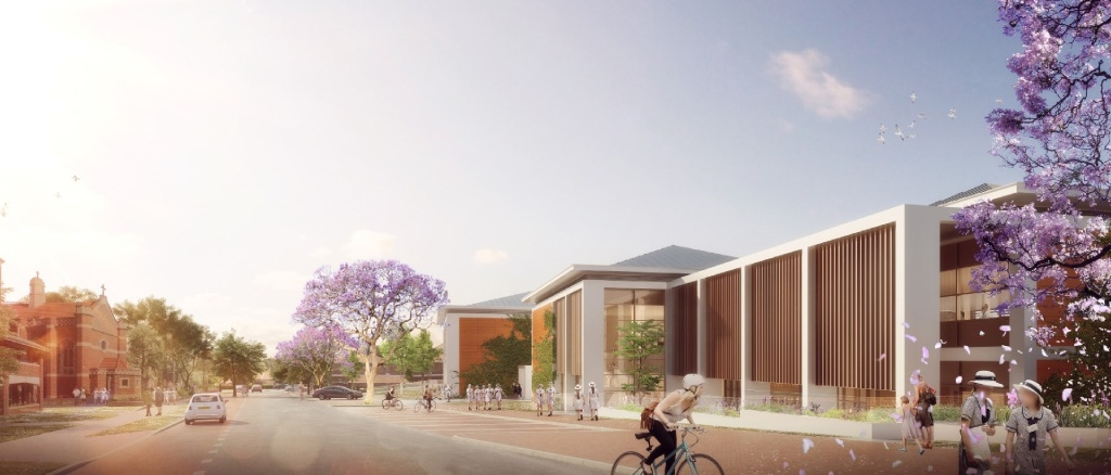 An artist's impression of the Senior Learning and Leadership Centre. Picture courtesy Parry and Rosenthal
