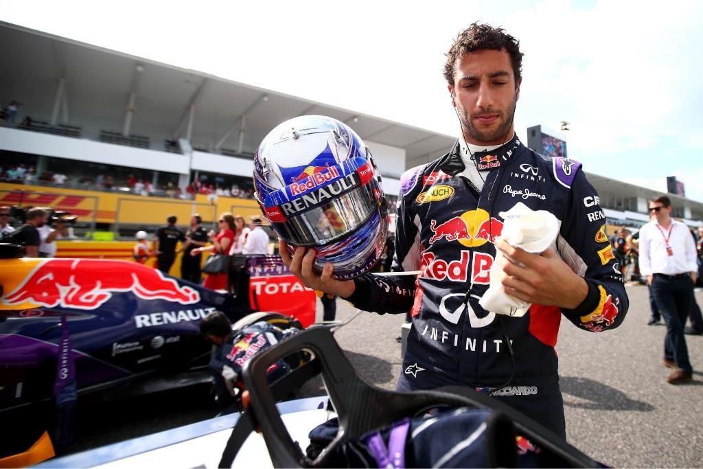 Daniel Ricciardo prepares for the Japanese Grand Prix. Picture: Getty Images