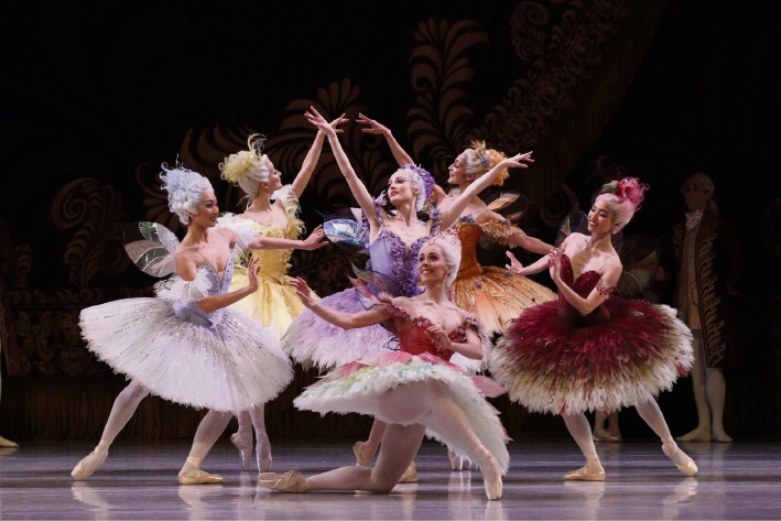 Dancers of The Australian Ballet in The Sleeping Beauty.
