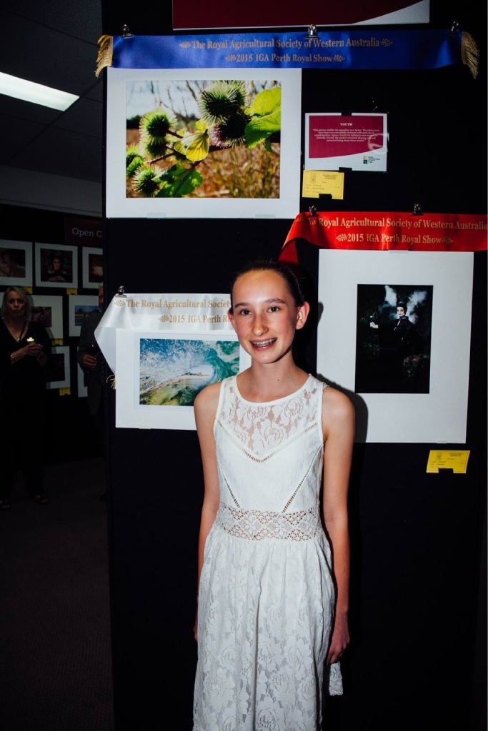 Kardinya's Amy Gagiero won the youth award for her photograph.