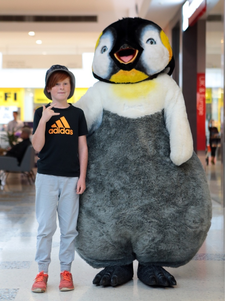 Kids keep their cool during school holidays at Ocean Keys Shopping Centre