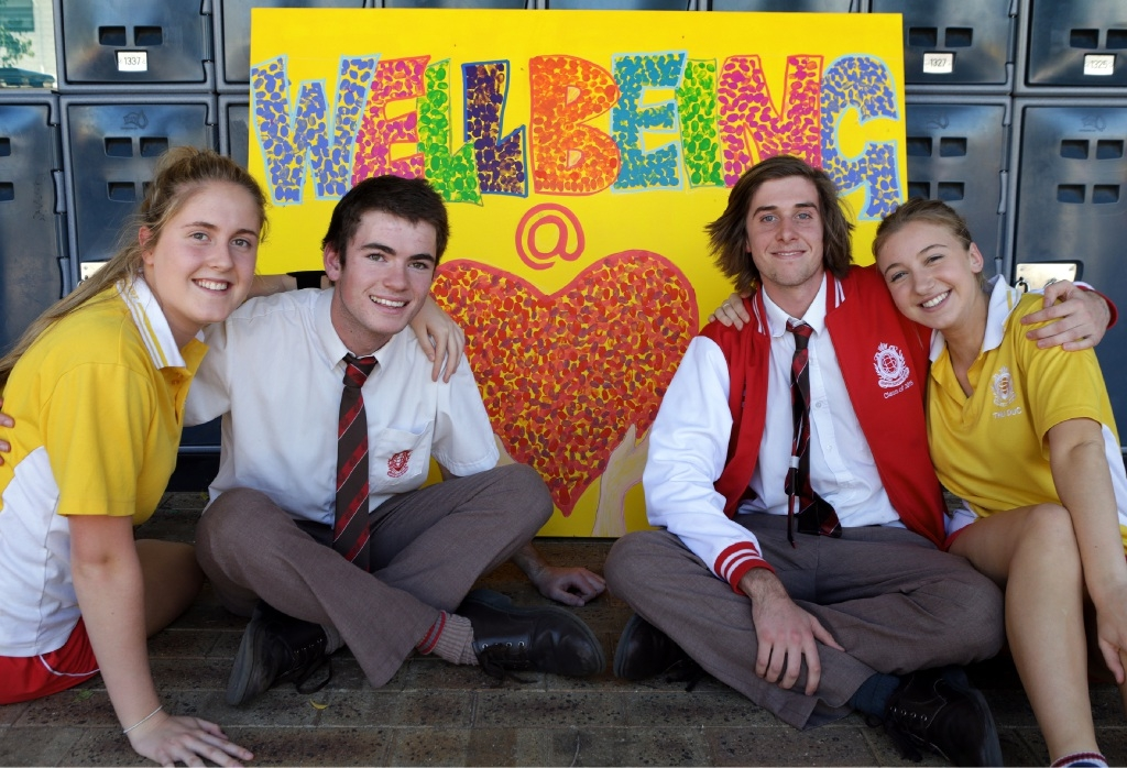 Feel-good fun for Mental Health Week at Sacred Heart College