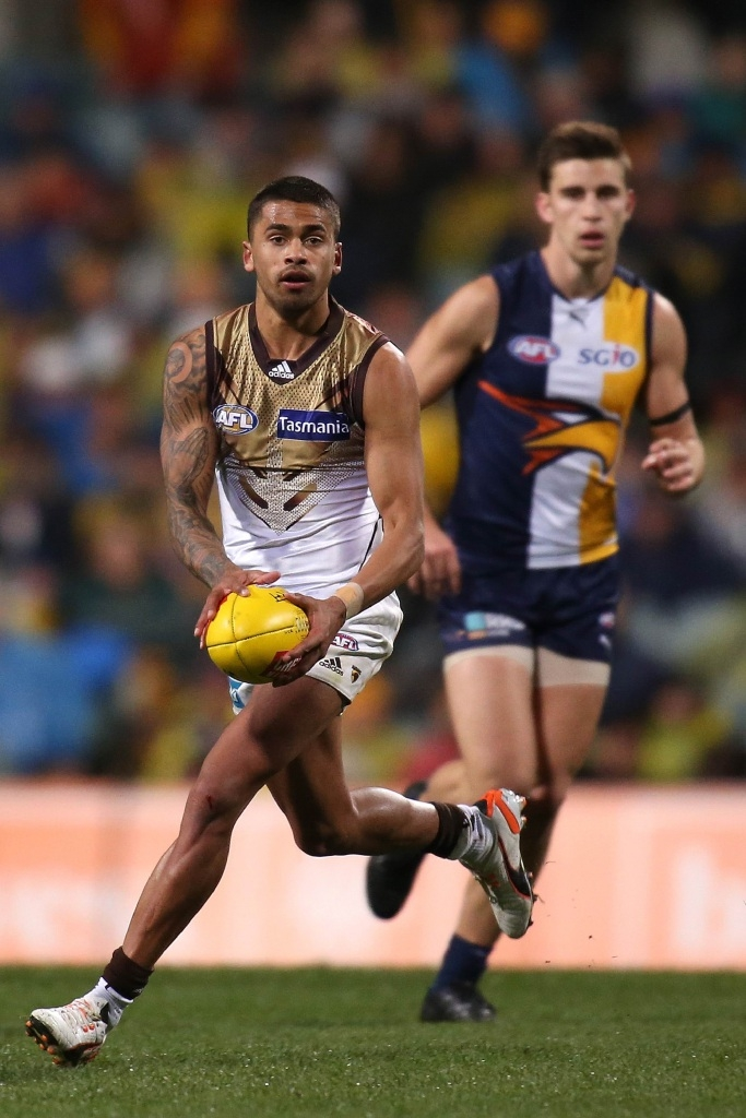 WA product Bradley Hill will become the youngest player in Hawthorn's history to win three premierships should they get up.