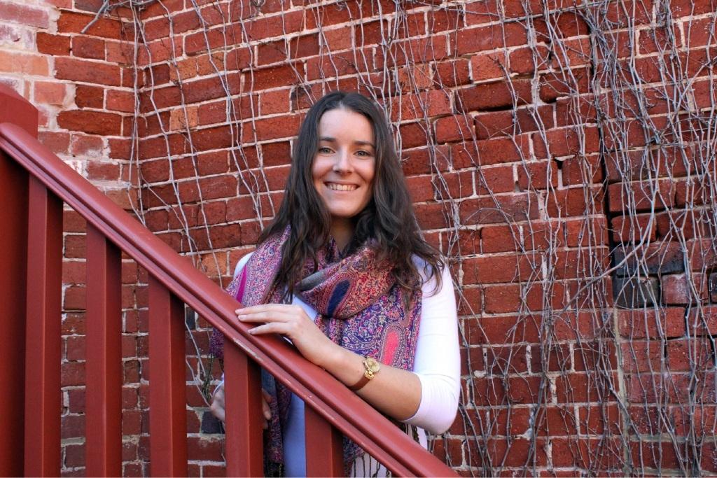 University student Jessica Puca.