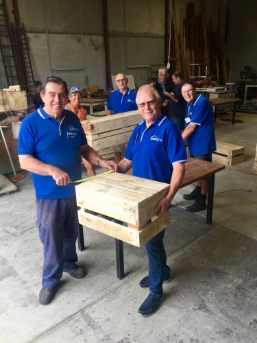 Bayswater Community Men's Shed a flurry of activity eight months after opening