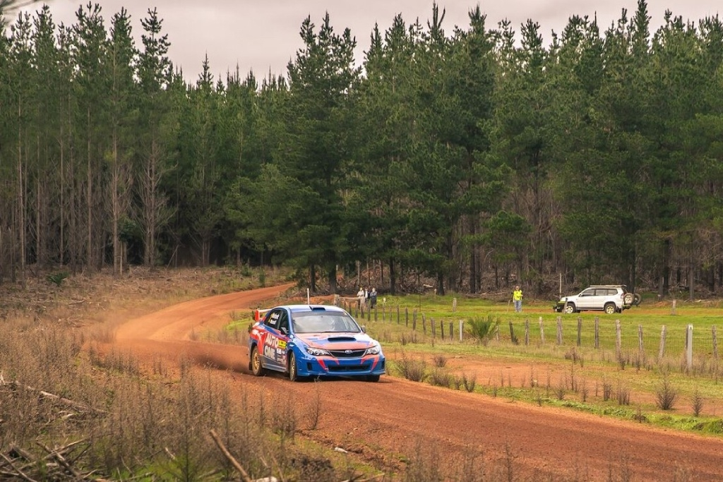 Markovic and Macneall at Lewana Stages Rally. Picture: Gemma Lucas.
