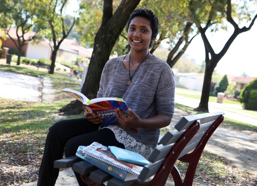 Mokshya Balage is studying her Bachelor of Science at Curtin University.