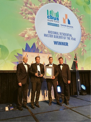 Adrian Zorzi adds two Master Builders Australia awards to growing list of accolades