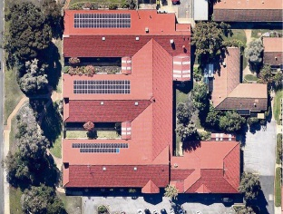 Solar panels now adorn an aged care facility in Shelley.