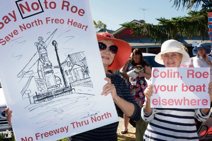North Freo residents disappointed by lack of Roe 10 info