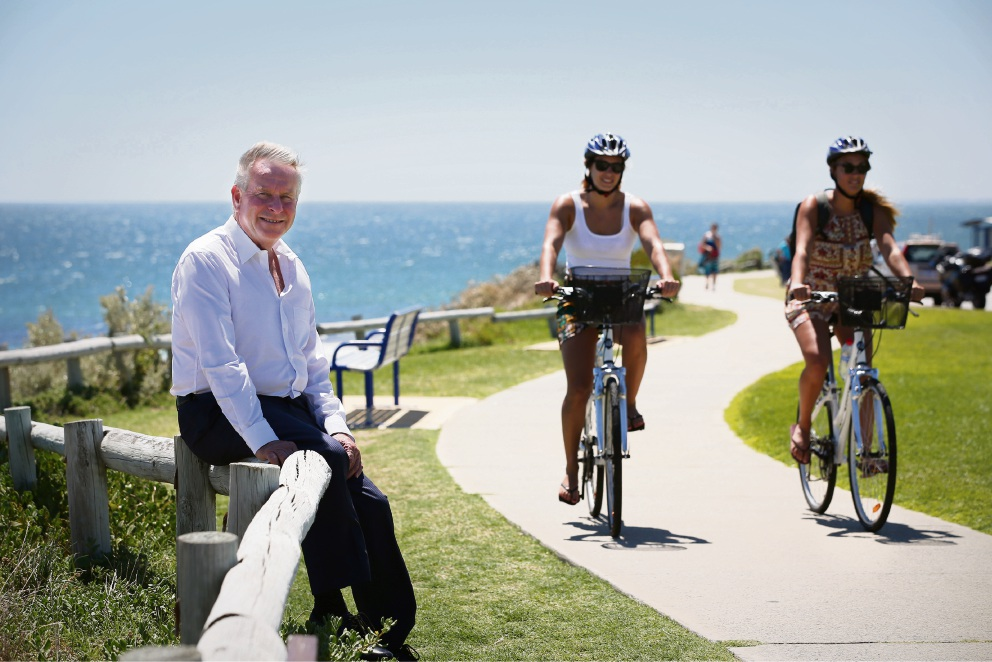 Premier keen to road-test new cycling network for himself