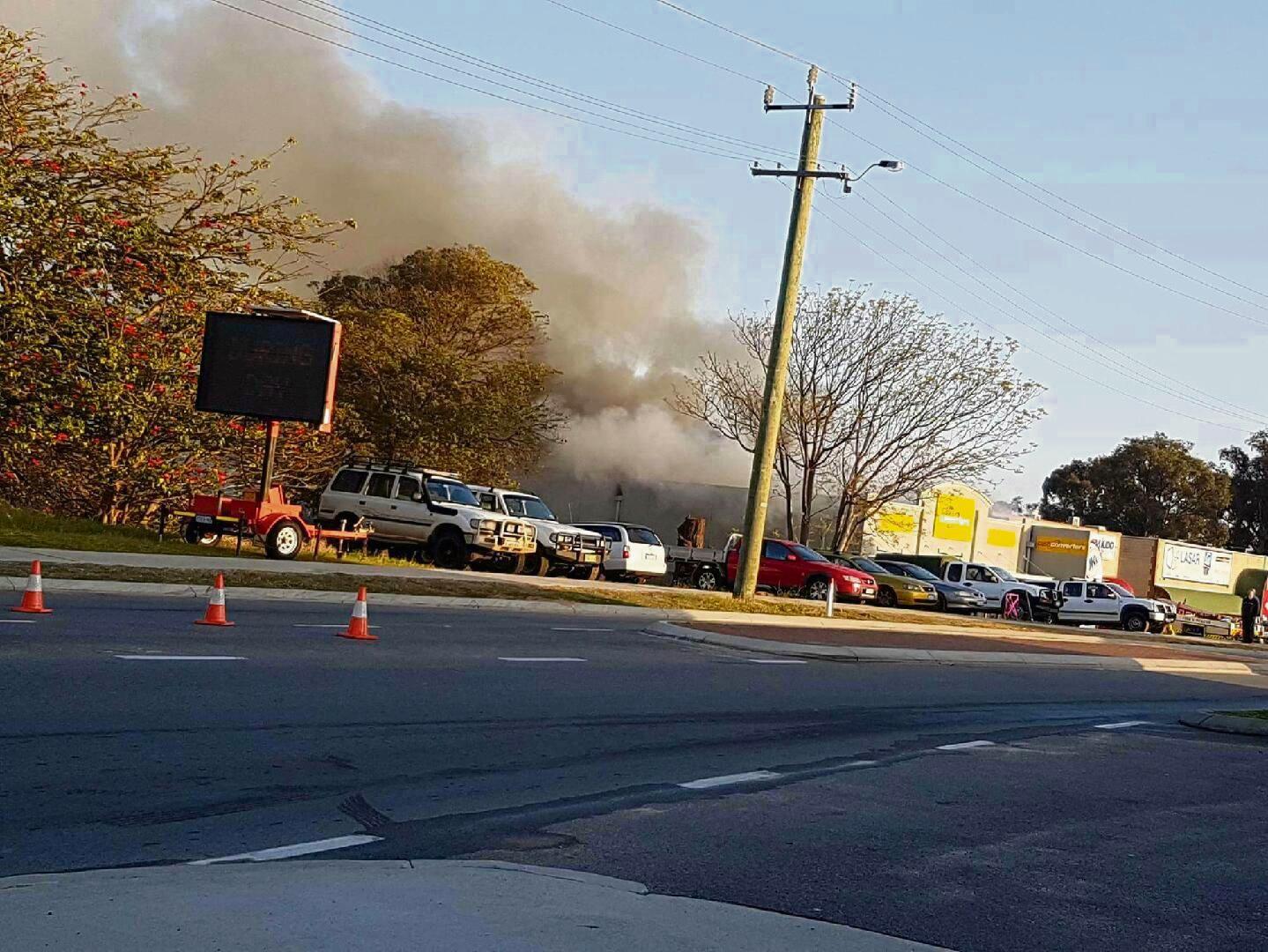 Fire at Mandurah Cash Converters