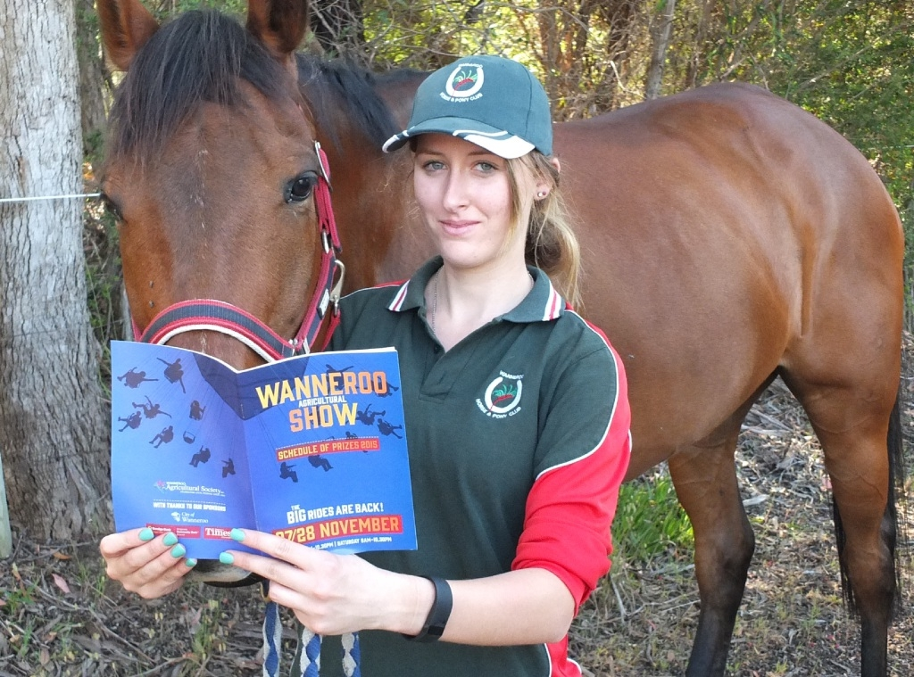 It's showtime... Tayla Short with No Flirt and the 2015 Wanneroo Agricultural Show schedule.
