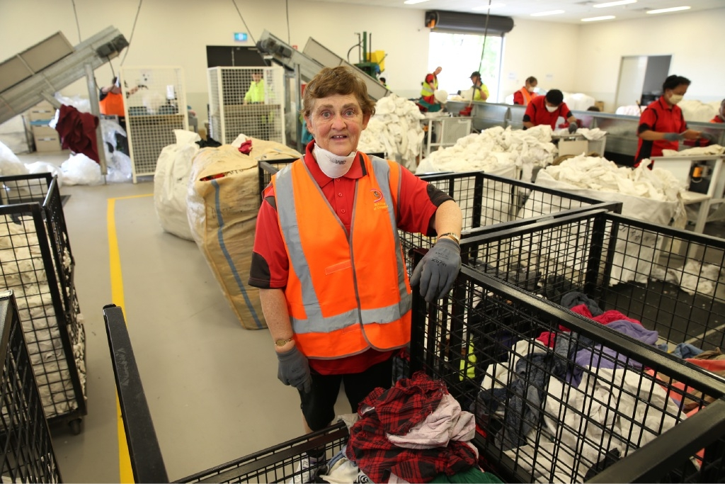 Robyn Gaff has been an employee at ParaQuad since 1985.  Picture: Andrew Ritchie         www.communitypix.com.au   d444937