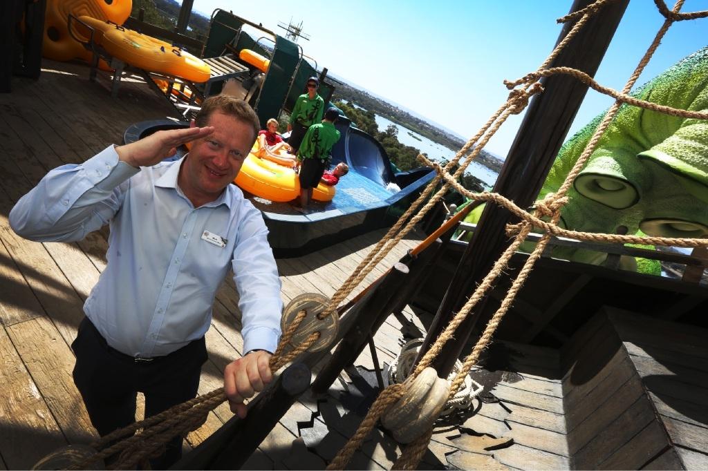 Adventure World chief executive Mark Shaw. Picture: Matt Jelonek www.communitypix.com.au   d444885
