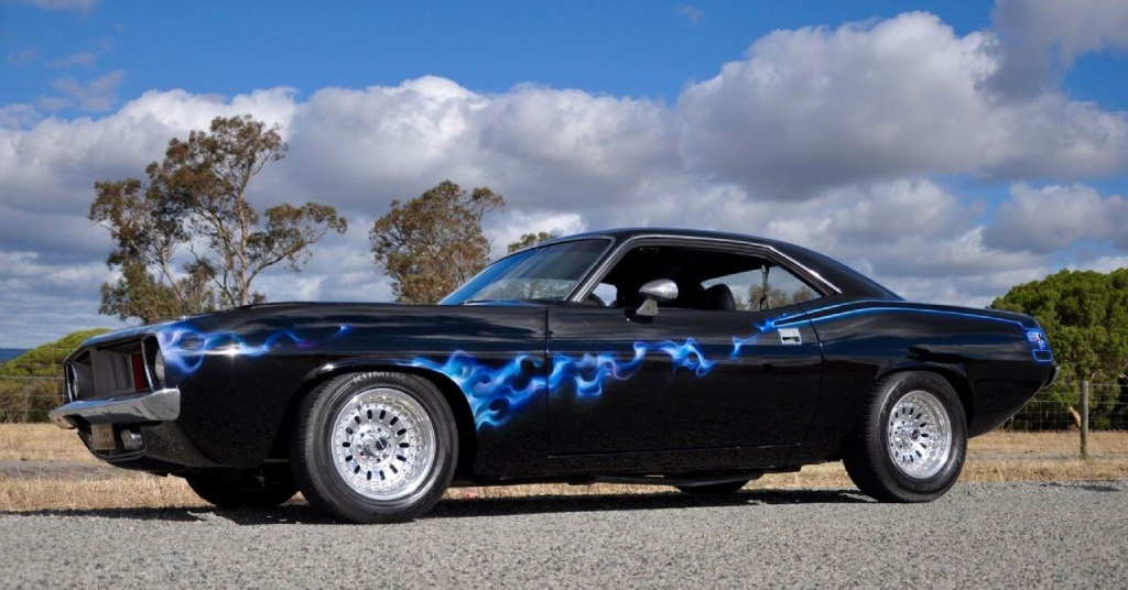 Banjup resident Kyal Agar's 1973 Plymouth Cuda will be on display during Perth Speed Fest in December.