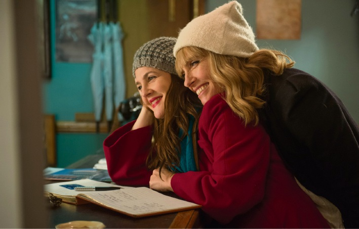 Drew Barrymore and Toni Collette in Miss You Already.