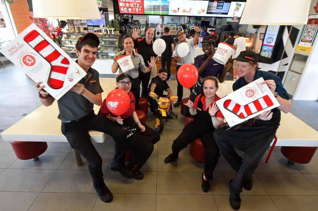 Staff at McDonald's Rockingham are gearing up for McHappy Day.