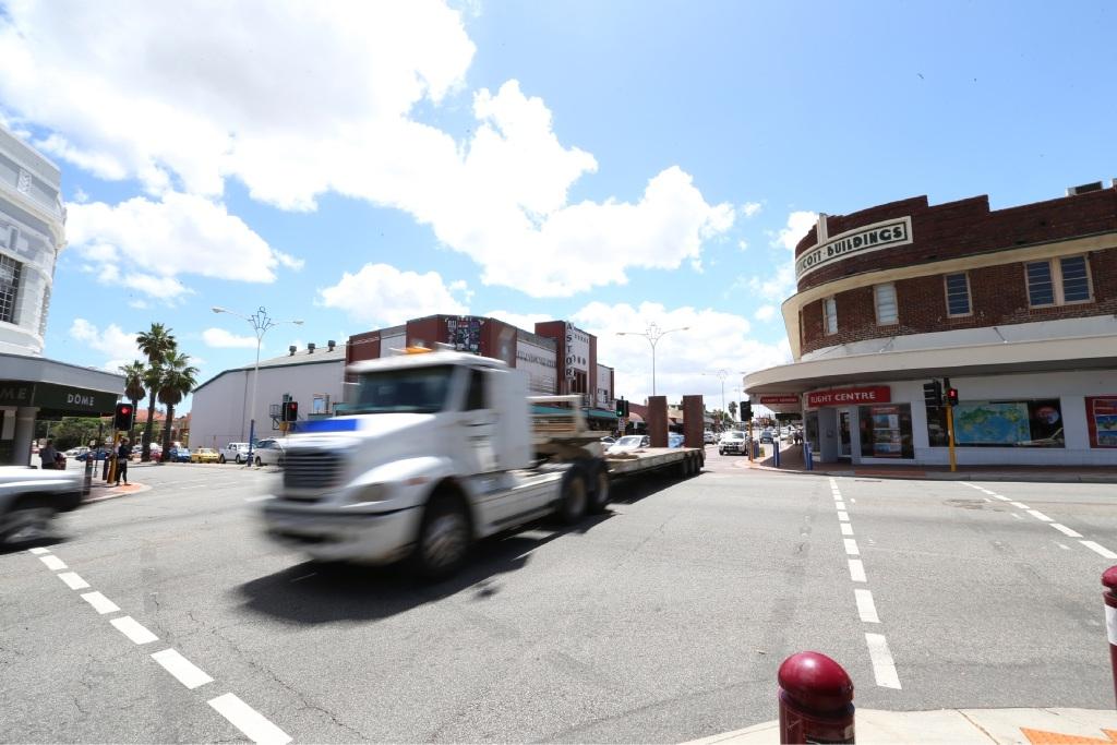 Most dangerous intersection: Mt Lawley