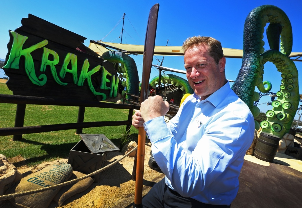 Adventure World chief executive Mark Shaw. Picture: Matt Jelonek www.communitypix.com.au   d444885