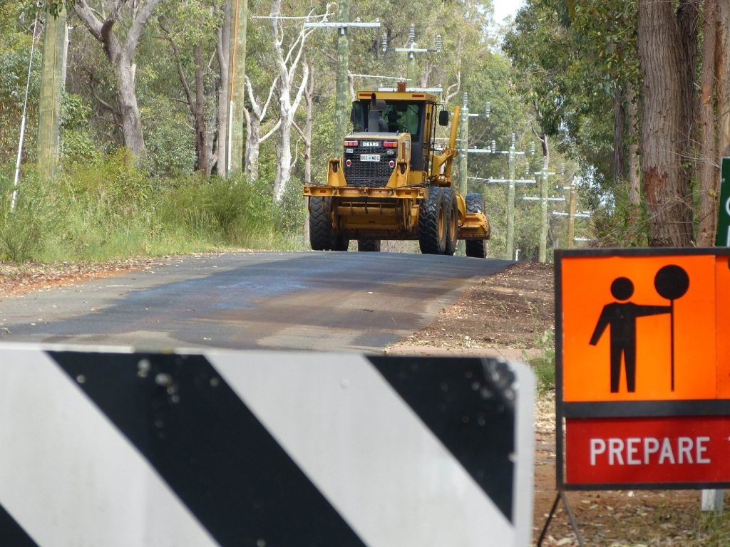 Work has started on Lacey Road, which will open to through traffic. Picture: Bec Sheppard.